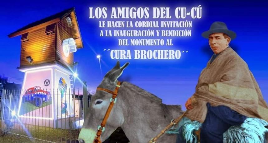 Los amigos del Cucú invitan a la inauguración del monumento al cura Brochero