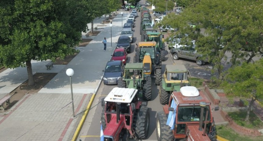 Tractorazo y asamblea en Salliqueló