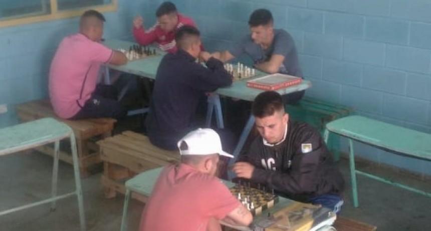 Torneo de Ajedrez en la Unidad Penal N°38