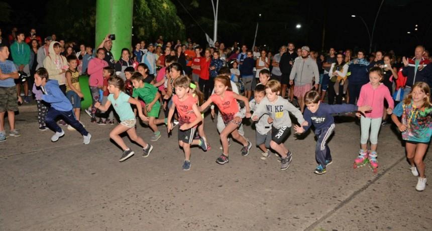 La correcaminata convocó la participación de unos 500 competidores