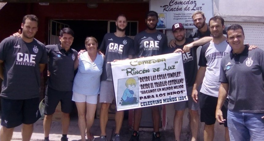 Con éxito terminó la colecta de alimentos  del equipo  de básquet de Estudiantes