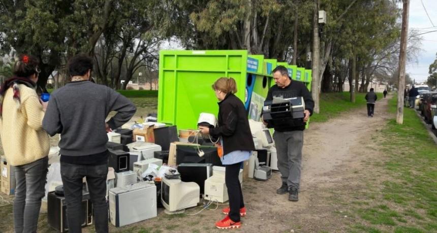 Nueva campaña de recolección de basura electrónica
