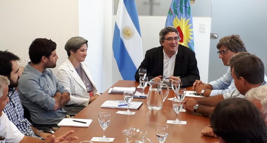 CARBAP se reunió con el Ministro de Desarrollo Agrario, Javier Rodríguez