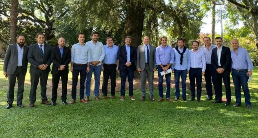 El intendente se reunió con el Ministro Berni