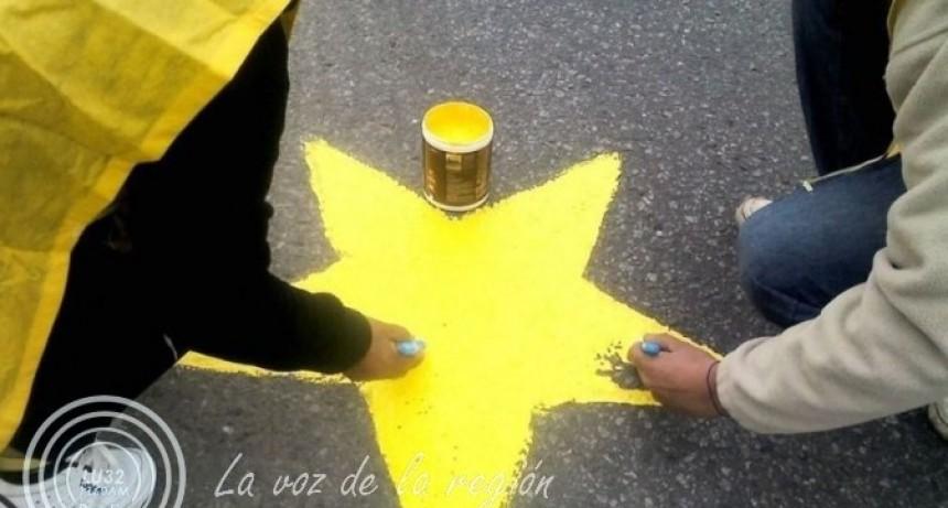 Pintan la Estrella Amarilla Nº 157