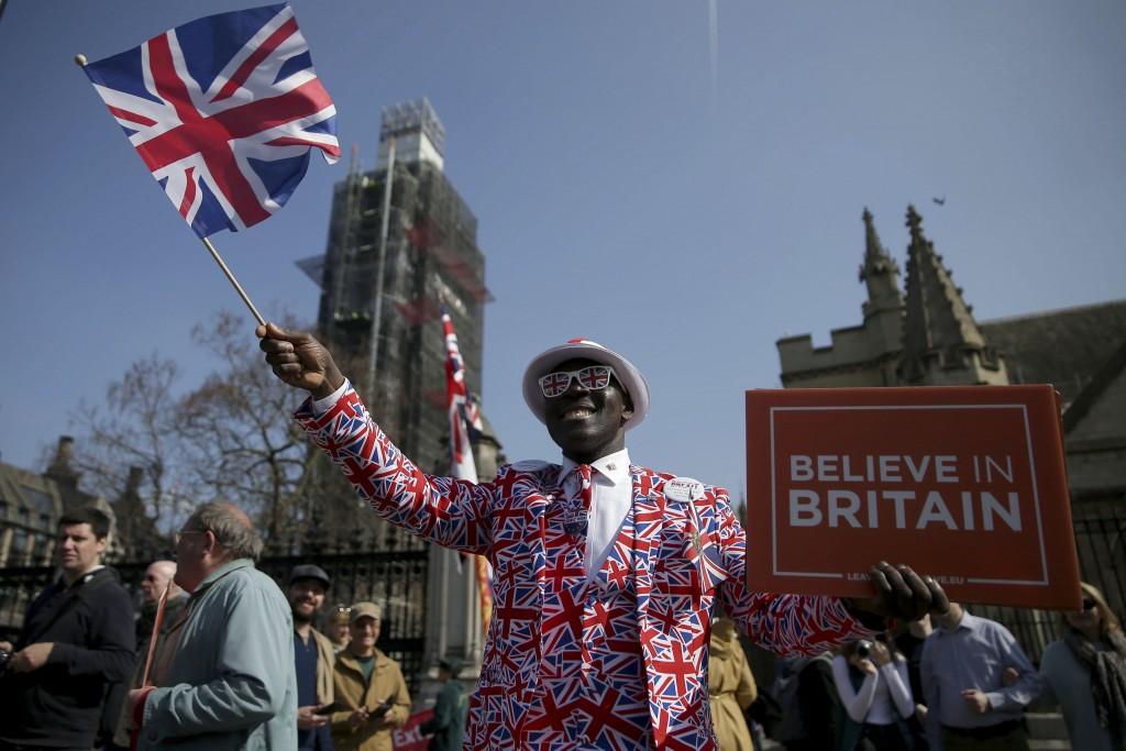 Reino Unido 'salió' de la Unión Europea
