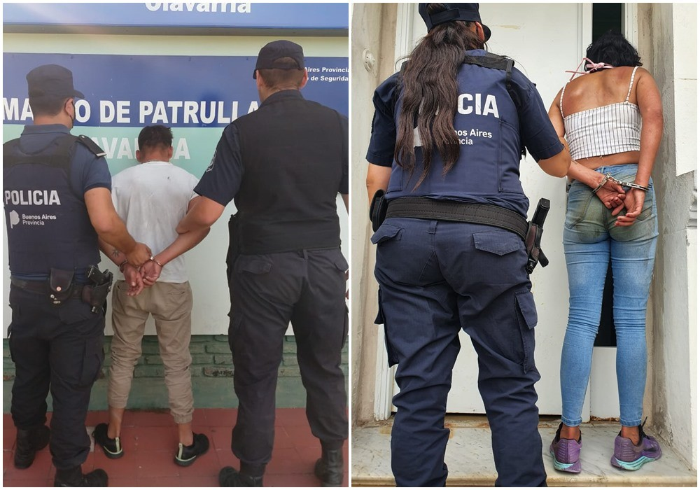 Un hombre y una mujer quebrantaron medidas de restricción
