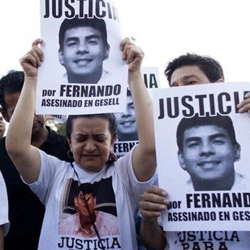 Realizaron actos en homenaje a Fernando Báez Sosa a un año del crimen