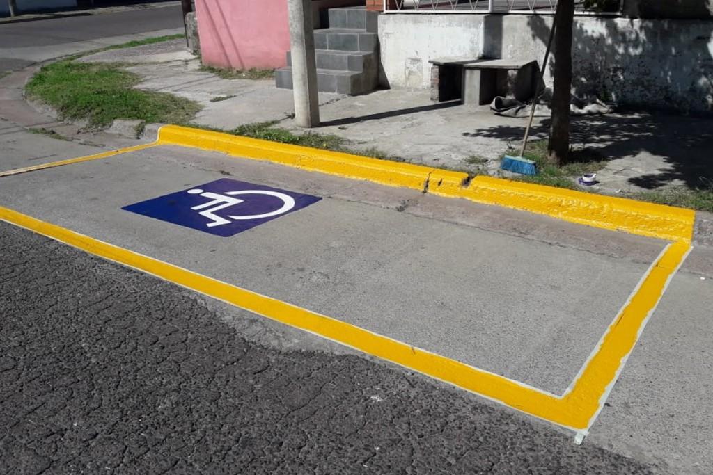 Programa de Seguridad Vial: tareas de señalización y demarcaciones
