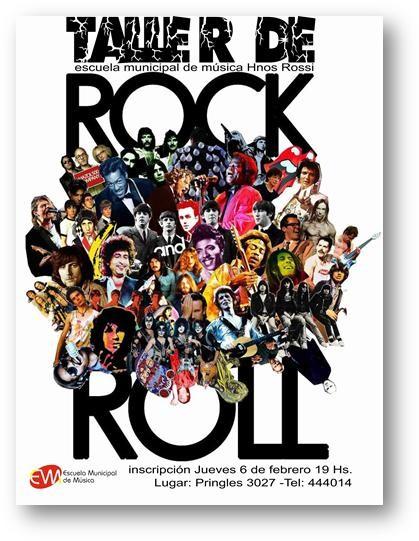 """Taller de Rock en la Escuela de Música """"Hermanos Rossi"""""""