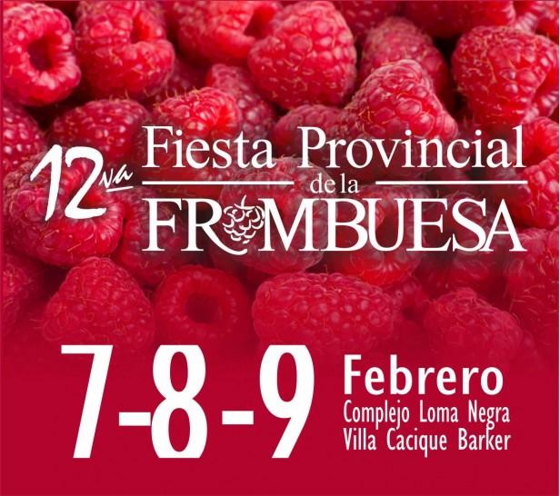 Benito Juárez :12º  Fiesta Provincial de la Frambuesa