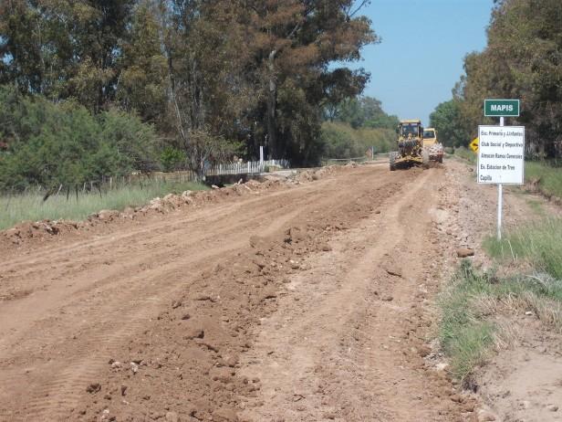 Piden que camiones y vehículos de gran porte no circulen por los caminos rurales