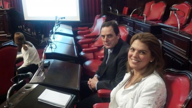 Senadores olavarrienses en la reunión del Jurado de Enjuiciamiento de Magistrados