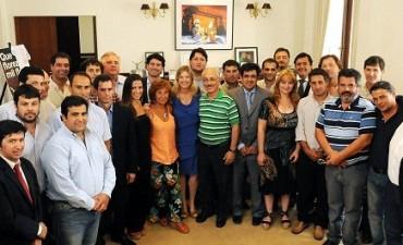 Concejales del FpV  de la séptima sección se reunieron con la ministra Alvarez Rodríguez