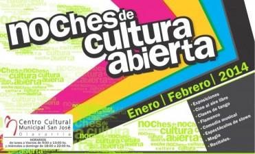 Continúan las Noches de Cultura Abierta en el Centro Cultural Municipal