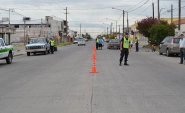 Se realizaron más de 30 infracciones en los controles de tránsito