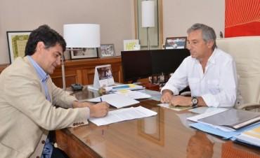 José Eseverri recibió al Intendente de Vicente López Jorge Macri