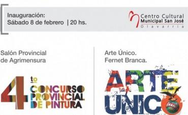 Inaugura la muestra de Arte Único 2014 a Olavarría