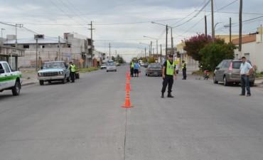 Se realizaron más de 40 actas de infracción en los controles de tránsito