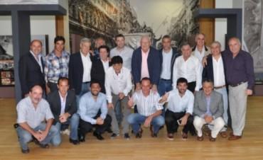 Cumbre de intendentes kirchneristas en la Quinta de San Vicente