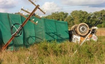 Camionero de Bolívar falleció en un accidente en Brandsen