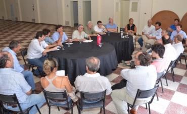 Los organizadores de la Nación Ganadera se reunieron para ultimar detalles