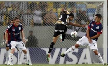 San Lorenzo perdió con el Botafogo en su debut en la Copa Libertadores