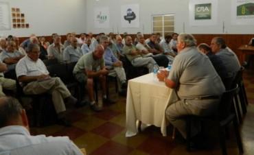 Salaverri lideró la Asamblea Agropecuaria convocada por CARBAP en Bahía Blanca