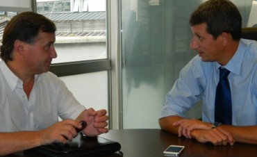 Gonzalo Bagú se reunió con el Senador Nacional Catalán Magni por una nueva campaña vial
