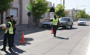 Más de 60 vehículos retenidos en una semana en distintos operativos de tránsito