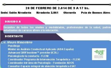 Jornada sobre el abordaje de los problemas de conducta en el Salón Rivadavia