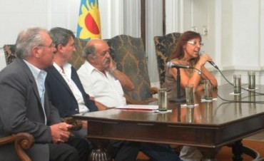 La Madrid: reunión informativa sobre la Escuela Secundaria Técnica N°1