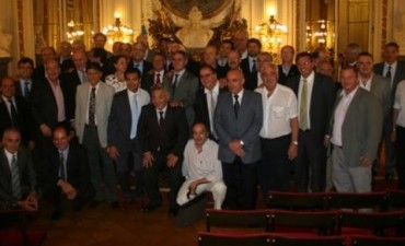 Abarca participó de una reunión con Parrilli en la Casa Rosada