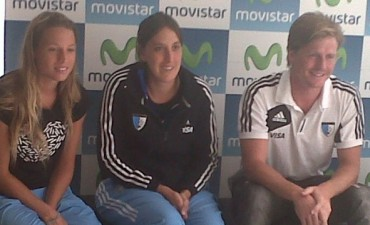 Movistar presentó a Las Leonas en Mar del Plata