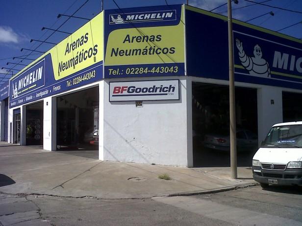 Arenas Neumáticos: 11 años en la ciudad