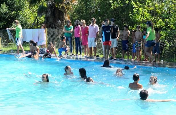 Se realizó el muestreo del Programa Municipal de Natación y Escuelas Abiertas de verano