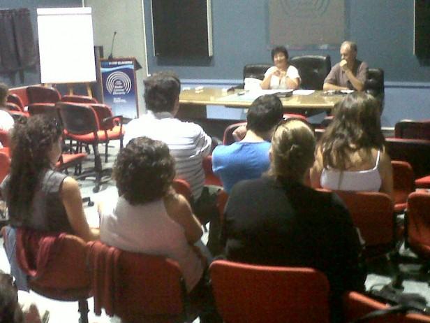 Educación: encuentro de inspectores en el auditórium de LU32
