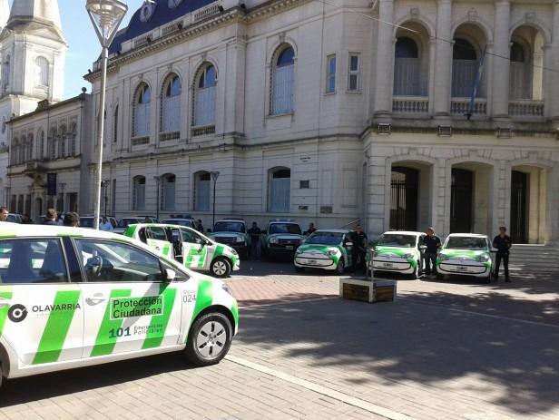 Nuevos móviles: Szelagowski destaca la inversión municipal
