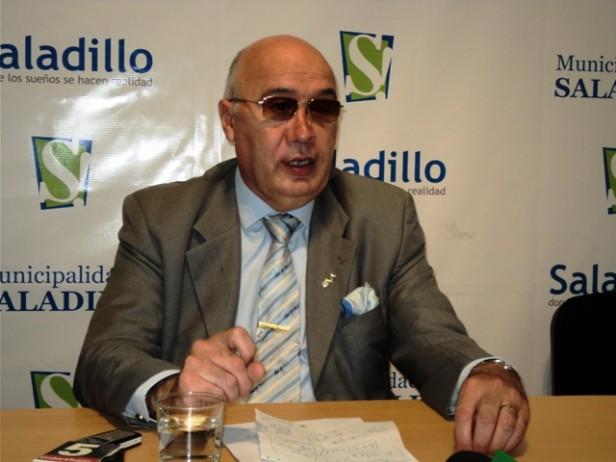 18F El Intendente Gorosito de Saladillo no participó de la marcha