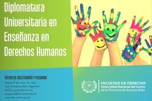 Derechos Humanos: la UNICEN comienza con Diplomaturas