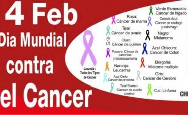 Hoy 4 de Febrero Día Mundial contra el Cáncer
