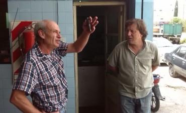 Guillermo Santellán continúa la recorrida por los barrios