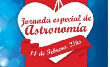 Jornada especial de astronomía: 14 de febrero