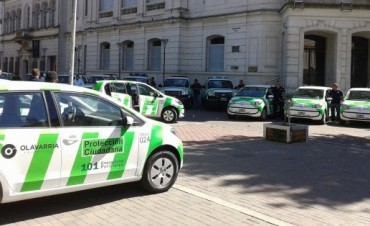Olavarría cuenta con nuevos móviles para Protección Ciudadana