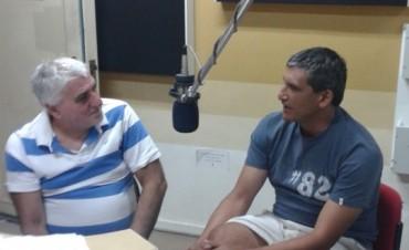 Fernando Di Carlo en Radio Olavarría