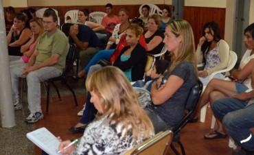 Más de 60 interesados para el FINES II en Colonia San Miguel
