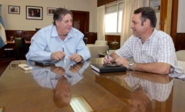 Alvear: Celillo se reunió con el Ministro de Salud bonaerense