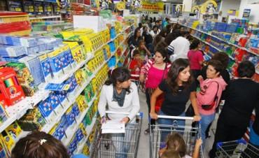 Buen volumen de ventas en la semana previa al inicio de clases