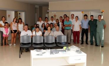 El Centro de Salud de Sierra Chica cuenta con un audiómetro
