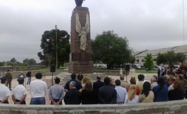 Recordaron el natalicio de San Martín con un acto